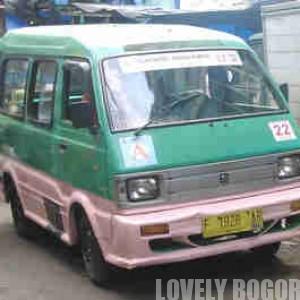 Bogor's public transpotation