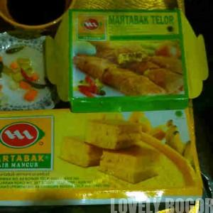 Martabak Manis dan Telur