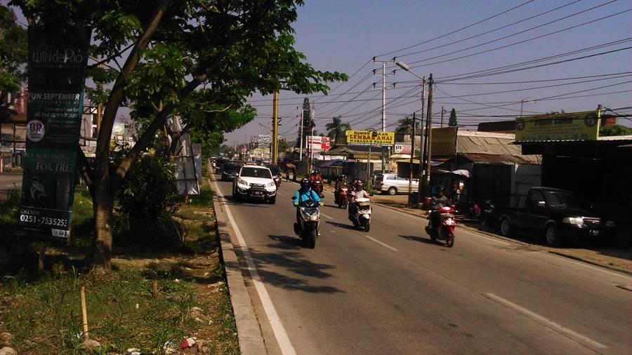 Jalan Soleh Iskandar Bogor