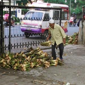 Pedagang Talas Bogor