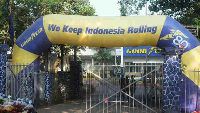 Pabrik Ban Good Year - Gujir di Jalan pemuda Bogor