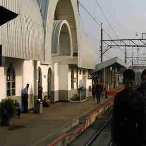 train service to Bogor