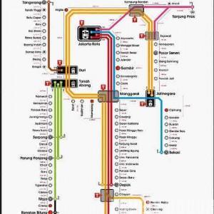 Rute Commuter Line Krl Jabodetabek Lovely Bogor