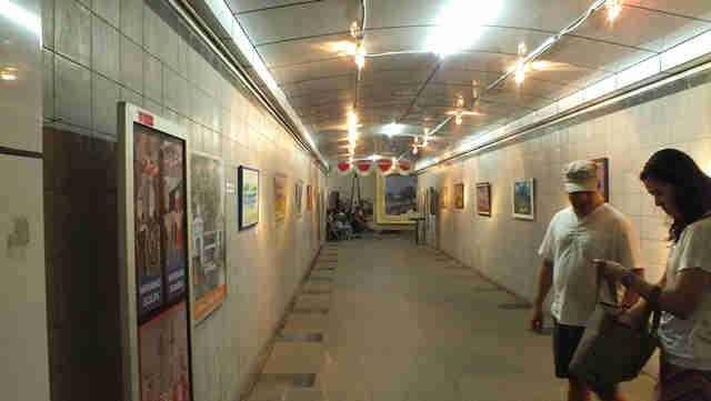 Pedestrian Tunnel in Bogor