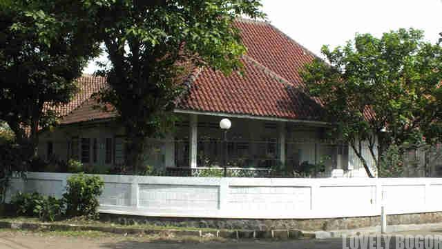 Rumah Kuno di Bogor
