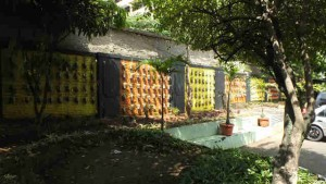 Taman Gantung di SMPN 1 Bogor