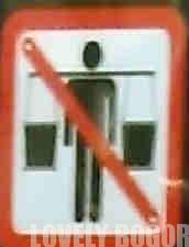 Yang dilarang di atas commuter line