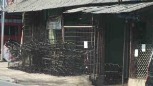 Usaha besi di desa Cinangneng Kabupaten Bogor