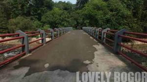 Jembatan Surya Lembayung Kebun Raya Bogor