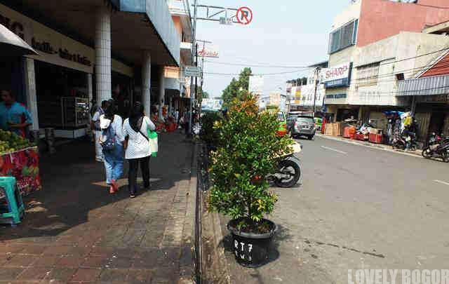 Kawasan Jembatan Merah Bogor