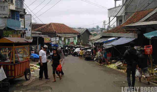 Pasar Tradisional di Kota Bogor