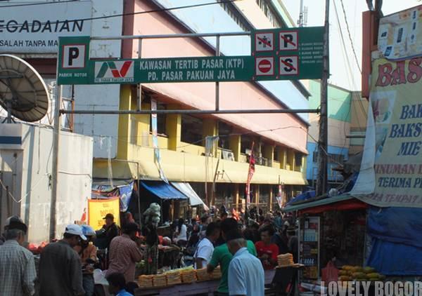 Kawasan Tertib Pasar di Pasar Bogor