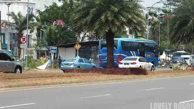 Bus APTB Jurusan Sentul City