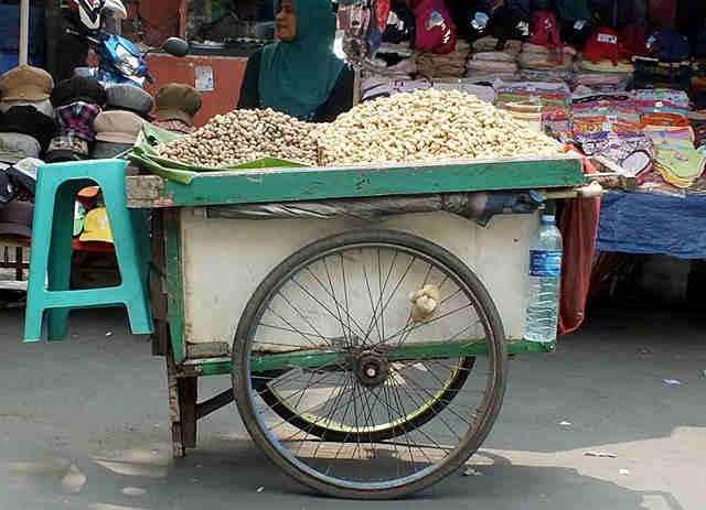 Snack Street Vendors in Bogor