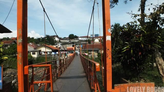 Jembatan Lebak Kantin Bogor