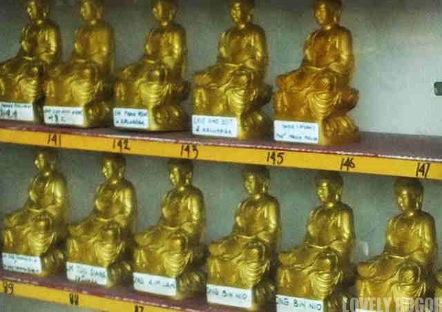 Patung Budha Kecil