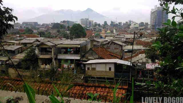 Pemukiman Padat Penduduk Di Bogor