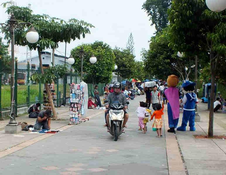 Pengendara Motor di Bogor