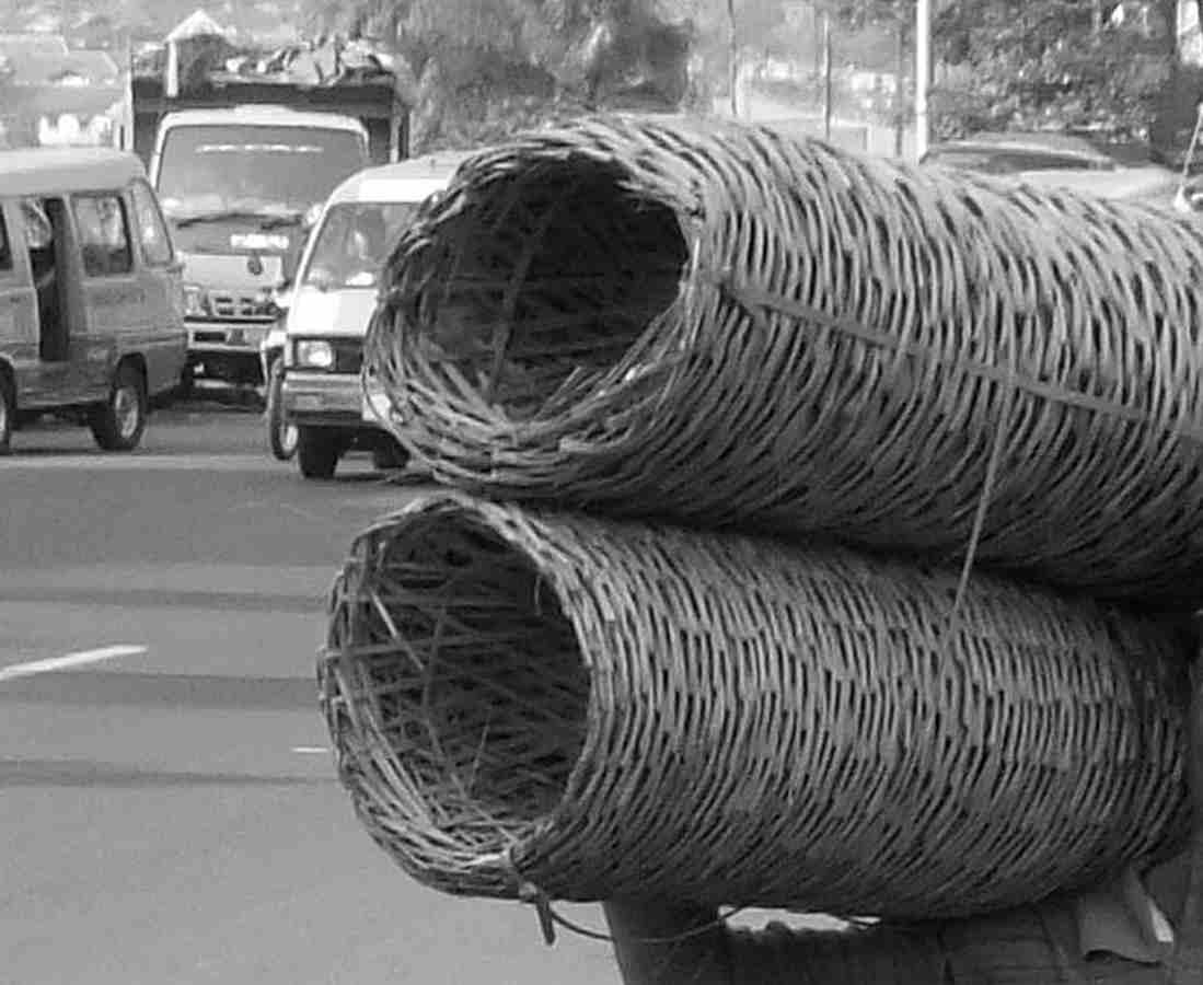 Bongsang atau Keranjang Bambu