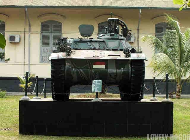 AMX 13 APC Monument