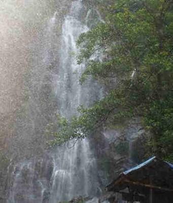 Cigamea Waterfalls - The wetness