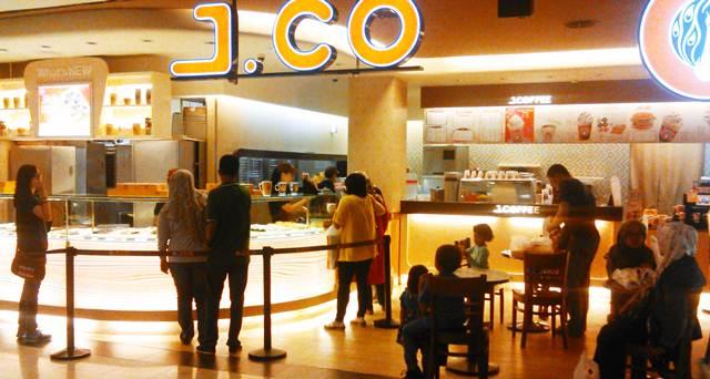 Gerai J. Co di Bogor