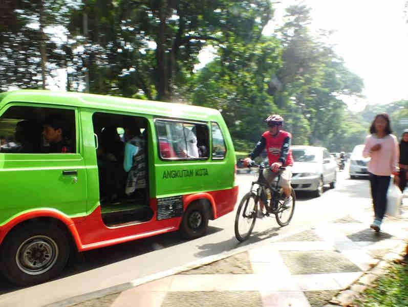 Jalur Khusus Sepeda Di Bogor