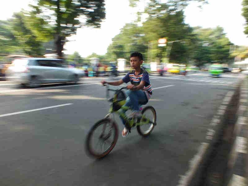 Jalur Khusus Sepeda Bogor
