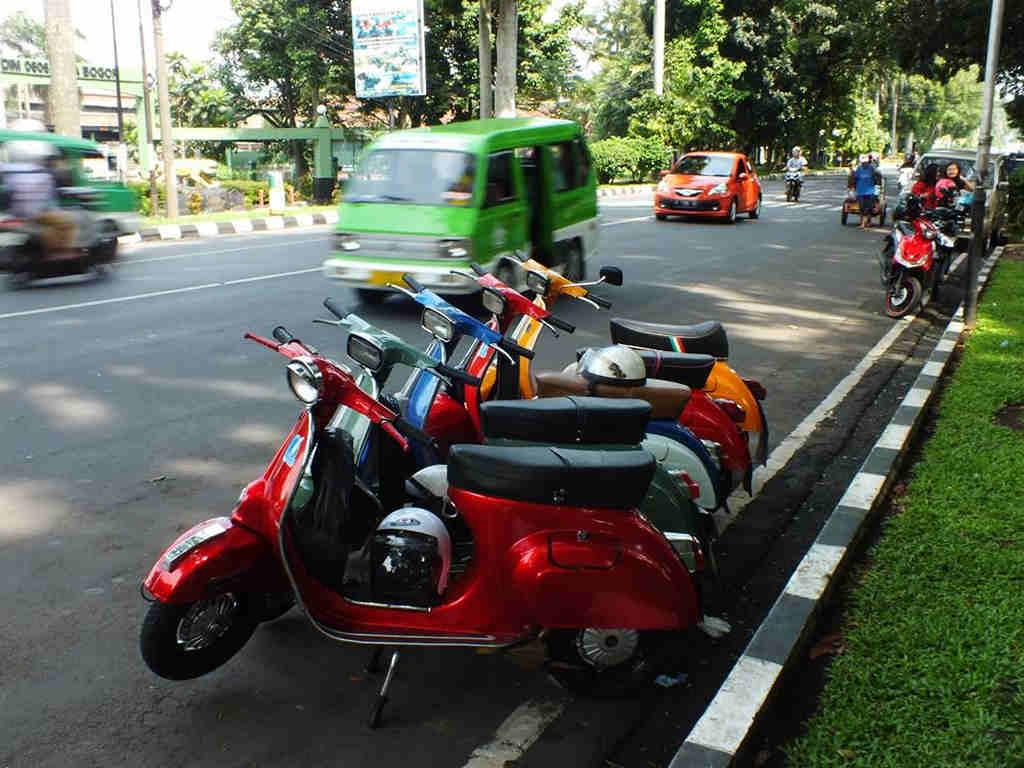 Penggemar Vespa Bogor