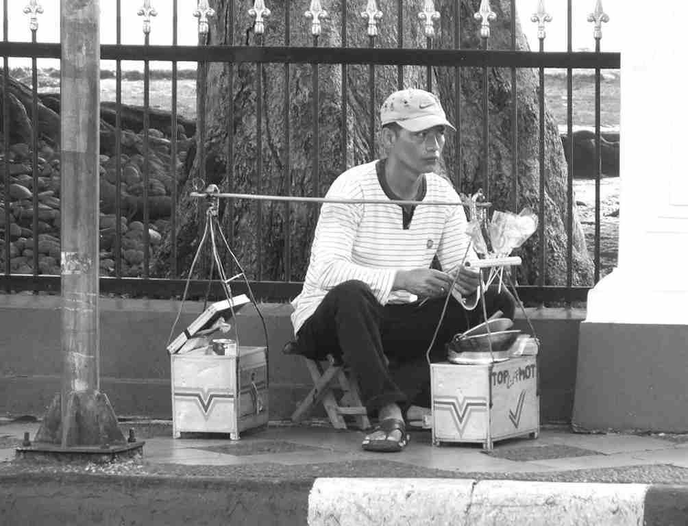 Penjual Gulali Di Bogor