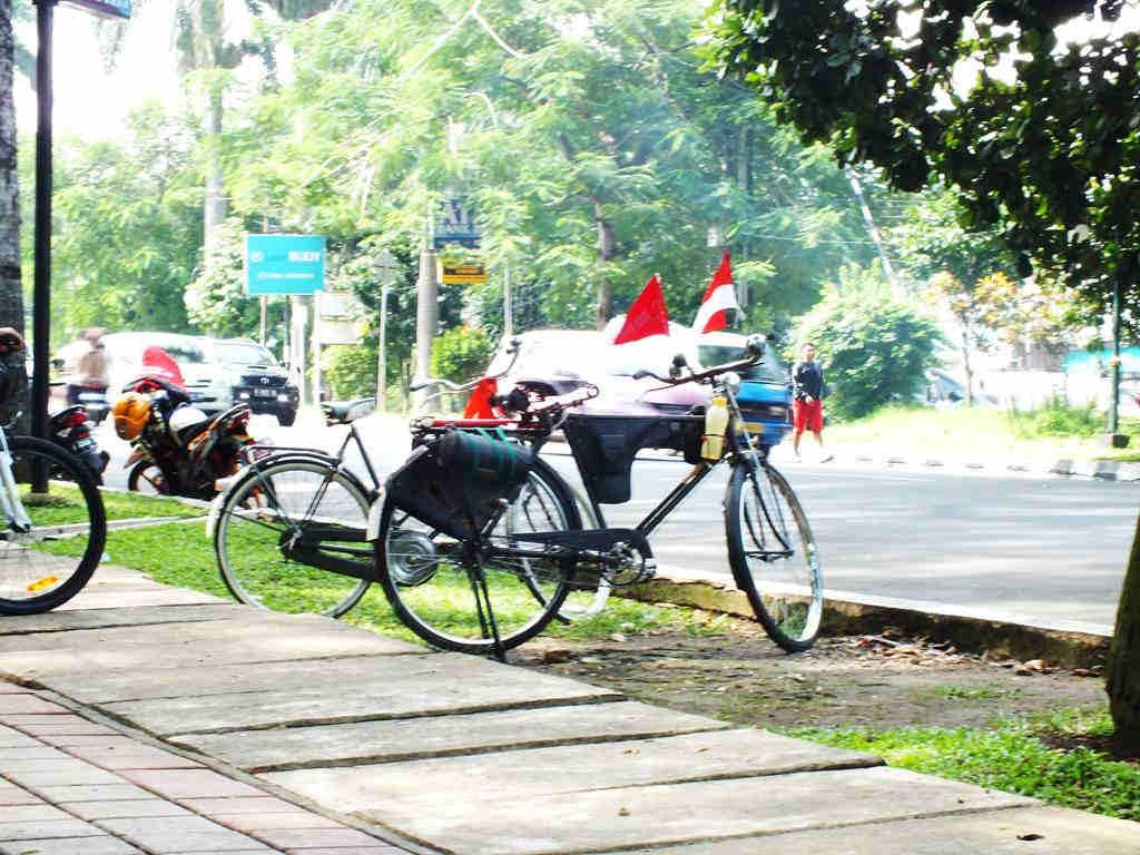 Sepeda Onthel Di Bogor