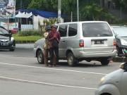 Beggars On Street