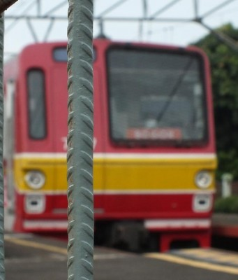 Commuter Line Di Stasiun Cilebut