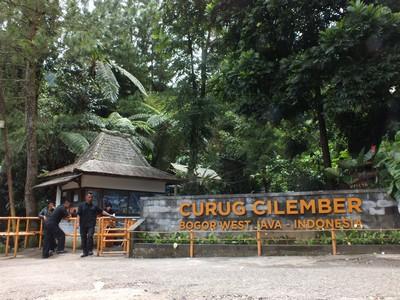 Loket Wana Wisata Curug Cilember Bogor