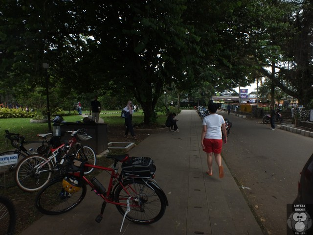 Wajah Baru Taman Kencana Bogor