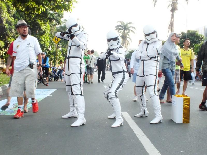 Kawasan Stormtrooper Tanpa Kendaraan Bermotor Bogor