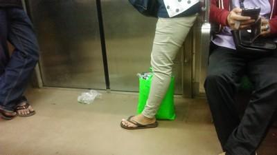 Kebersihan di Commuter Line