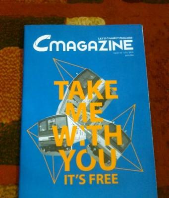 C Magazine Majalah Commuter Line