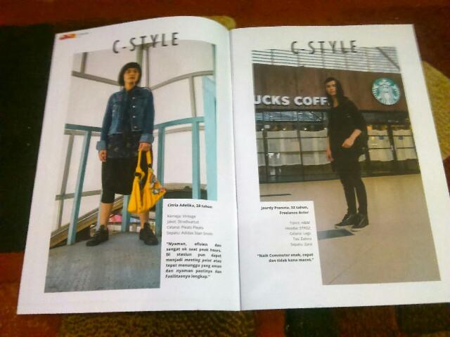 Cmagazine majalah commuter line