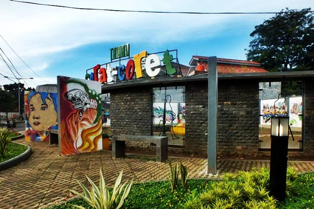 the Graffiti Park