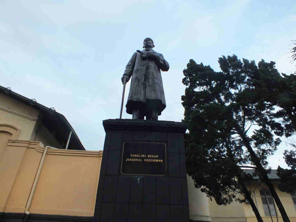 General Sudirman Statue