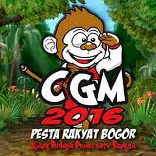 Logo CGM Bogor Street Fest 2016