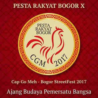 Logo CGM Bogor Street Fest 2017