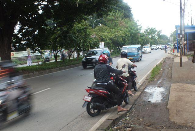 Putaran Depan Bukit Cimanggu City ditutup
