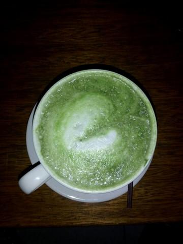 Green Tea Latte Kedai Opatan
