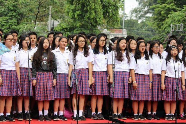 Pafuan Suara Regina Pacis di Cap Go Meh Bogor 2017