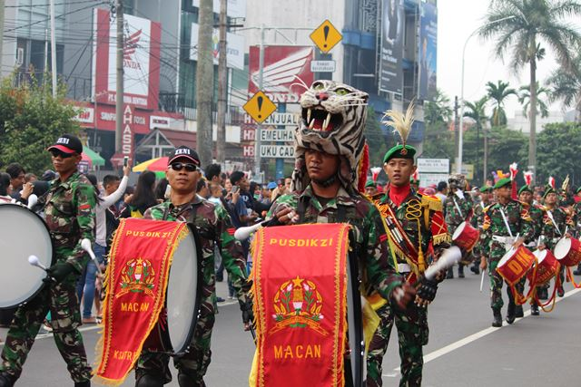 drum band Pusdikzi Bogor 4