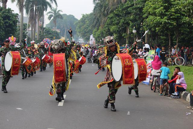 drum band Pusdikzi Bogor 5