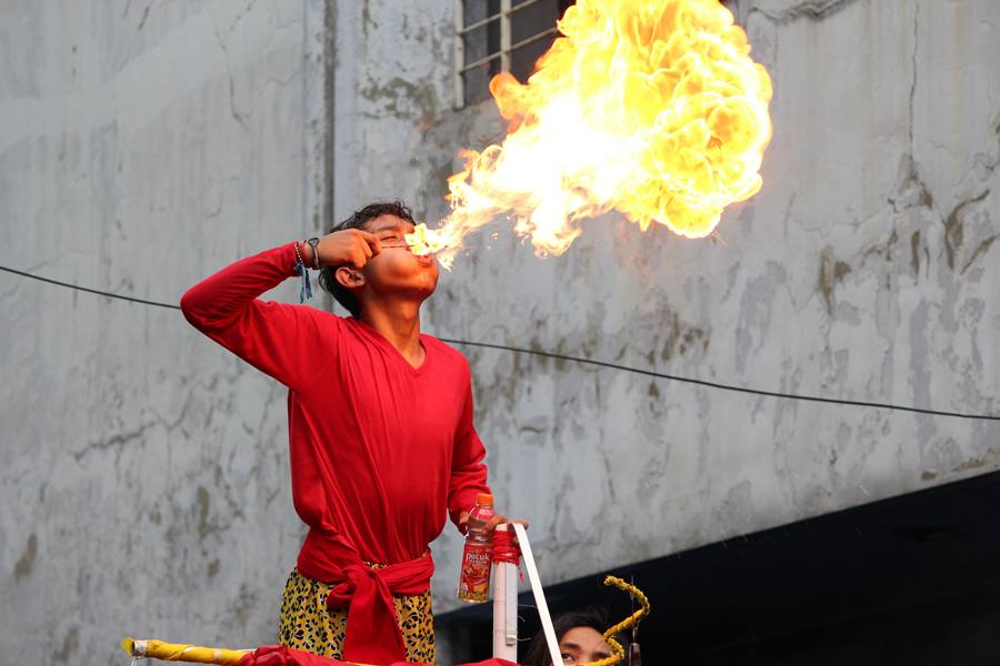 flamethrower in Bogor