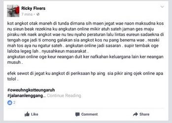 tanggapan netizen terhadap demo dan mogok angkot di Bogor 6